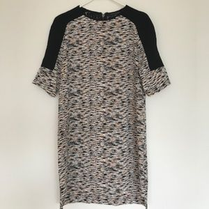 French Connection Size 6 patterned cocktail dress